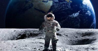 Sa paguhet një astronaut?