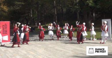 U mbajt dhe u transmetua në televizione lokale, Festivali i Vallëzimit Popullor Dance Pri Fest, edicioni i 3-të