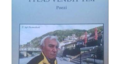 """Libri poetik """"I FLAS VENDIT TIM"""" nga Murat Gashi"""